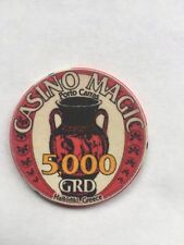 5000 GRD Casino Magic, Porto Carras, Greece gaming chip