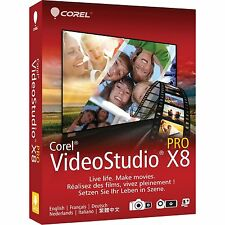 Corel VideoStudio X8.5 - 1 PC - DE/EN/FR + Multilingual - NEU