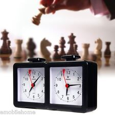 Quarz Analog Chess Clock I-go Count Up Down Timer for Game Competition