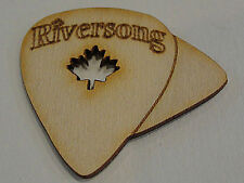 RIVERSONG WOODEN GUITAR PICKS Multi Flexi  1.0 /.60  MADE IN CANADA 2 PICK PACK