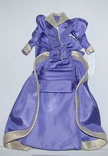 MATTEL BARBIE DOLL PURPLE VICTORIAN DRESS FASHION CLOTHES NEW FROM PACKAGE