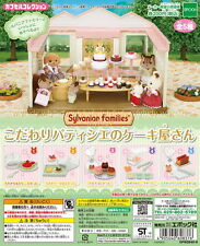 Sylvanian Families Cake Shop In Pastry FOOD ONLY 5pcs - Epoch