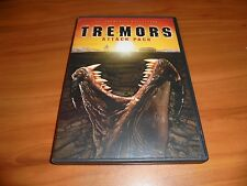Tremors 1 2 3 4 Attack Pack (DVD, 2-Disc Widescreen 2005) Kevin Bacon Used