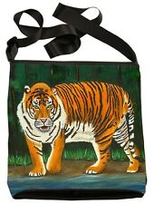 Tiger Small Cross Body Bag - Support  Wildlife Conservation, Read How!
