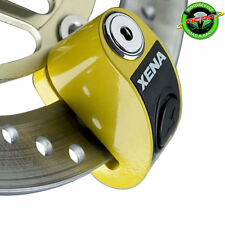 XENA XZZ6-Y SECURITY SCOOTER DISC LOCK ALARM YELLOW Honda Ruckus NPS50
