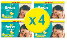 544 Couches Pampers Baby Dry GIGA – Taille 3  - MIDI