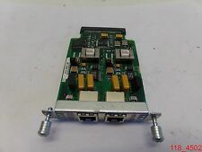 Cisco VIC 2FXO, 800-02495-01 2-Port Voice Interface Card
