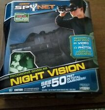 Jakks Pacific Night Vision Goggles Spy Net Glasses Optics, USB Port Night Vision