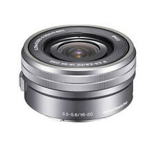 Sony SELP1650 16-50mm Power f/3.5-5.6 Zoom Lens (Bulk) - Silver