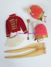 Lot Vintage Drum Majorette #875 Barbie Doll Clothing Band Uniform