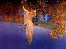 Reveries  by Maxfield Parrish   Giclee Canvas Print Repro