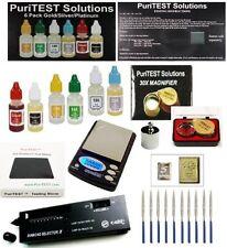 Digital Scale + Electronc Diamond Detector + Gold/Silver/Platinum Testing Kit...