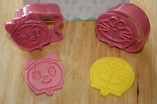 Doraemon Plunger Pack of 2, Sugarcraft, Cake Decorating, Fondant