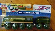 NEW IN BOX Thomas and friends wooden STREAMLINED EMILY
