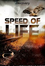 NEW  DVD // DISCOVERY CHANNEL // SPEED OF LIFE // 3 EPISODES // 129 min