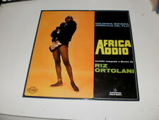 RIZ ORTOLANI - AFRICA ADDIO - OST - ORIG 1st PRESS ARIETE RECORDS - 1966 - ITALY