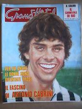 GRAND HOTEL n°10 1979 Antonio Cabrini - Il Carnevale di RIO   [GS50]