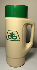 """Used Pioneer Seed Thermos 4415 32 fl oz. 12"""" tall for HOT & COLD **Very Clean**"""