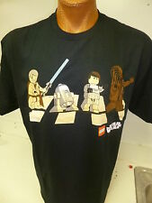 Mens Star Wars Brand Star Wars Legos Shirt New 100% Cotton NWT L