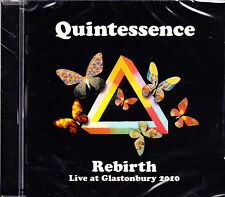 QUINTESSENCE rebirth live at glastonbury 2010 CD NEU