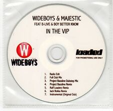 (GJ825) Wideboys & Majestic Feat. B-Live & Boy Better Know, In The VIP - DJ CD