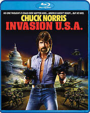 INVASION U.S.A. - CHUCK NORRIS   RICHARD LYNCH 1985 ACTION THRILLER  BLU-RAY