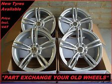 """1748 Brand New 19"""" Alloy Wheels To Fit BMW 1 2 3 Series E90 F30 4 5 Series 5x120"""