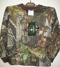 Childrens REALTREE Camouflage Long Sleeve Tee-Shirt -- 128cm approx 7/8 years