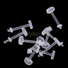 30pcs 16G and 18G Clear Acryl Lip Rings Labret Safety Body Jewelry Supplies