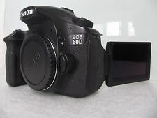 Canon EOS 60D 18.0 Mega Pixel Digital SLR Camera - Black (Body Only)