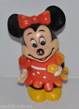 MINNIE MOUSE vintage Plastic BANK 1980s Walt Disney