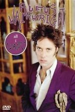 RUFUS WAINWRIGHT dvd ALL I WANT Region Free 13 live performances & 4 music vids