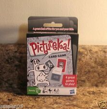Hasbro Pictureka Card Game Ages 6 And Up 4 Games To Play NEW