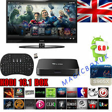 TX3 pro S905X kodi 16.1 fully loaded android 6.0 guimauve tv box avec clavier