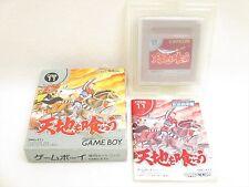 TENCHI WO KURAU Item Ref/bcc Game Boy Nintendo Capcom Japan Boxed Game gb