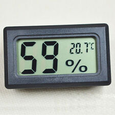 Neu Mini Digital LCD Temperature Luftfeuchtigkeit Hygrometer Thermometer Set