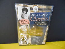 Grand Ole Opry Video Classics-Queens Of Country-SEALED- MUSIC DVD-Dolly Parton