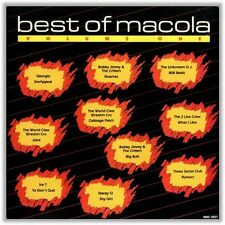 The Best of Macola Volume One Audio Cassette Tape (1987)