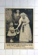1963 Lucky Horseshoe For Miss M Sowden, Penzance, Wedding G Courtney Alverton