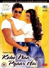 KAHO NAA PYAAR HAI - BOLLYWOOD ORIGINAL DVD - FREE POST