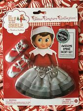 2015 AWESOME GREY TO BLACK OMBRE BALLET SKIRT & SHOES SET Elf on the Shelf Claus