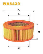 WIX WA6430 Car Air Filter Round Replaces C1752 CA3127 LX260
