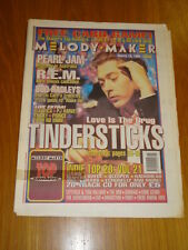 MELODY MAKER 1995 MAR 18 THUNDERSTICKS PEARL JAM REM