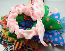 Wholesale 10pcs Lot Rabbit Ear Dots Hairband Women Hair Band Ponytail Holder f89
