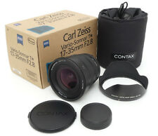 Contax Carl Zeiss N Vario-Sonnar 17-35mm F2.8 T* Lens. GB-103 Hood. Case. Box