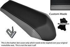 GREY & BLACK CUSTOM FITS DERBI GPR 50 125 UNDERSEAT EXHAUST 07-13  REAR COVER