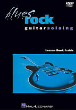 Blues Rock Guitar Soloing Learn to Play Lesson Tutor Beginner Music DVD