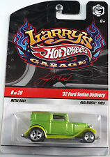 Hotwheels larry's garage! 8/20'32 ford sedan delivery new! american! hot rod