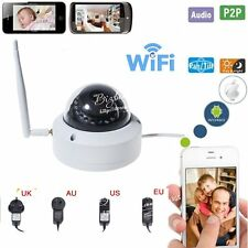 720P Wifi Waterproof Outdoor P2P IP Camera Security IR-Cut Night Vision 12V 1A