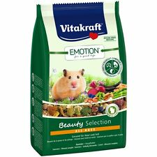 Vitakraft Emotion Beauty All Evo, Criceto - 600g - Fodera Mangime Speciale